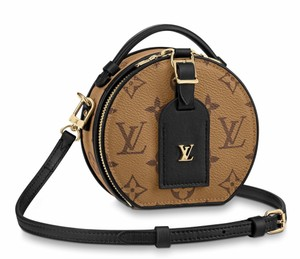Louis Vuitton Classic Tote Shopper Shopping Leather Cross Body Bag
