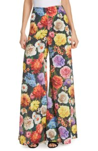 Alice + Olivia Super Flare Pants Blooming Fields