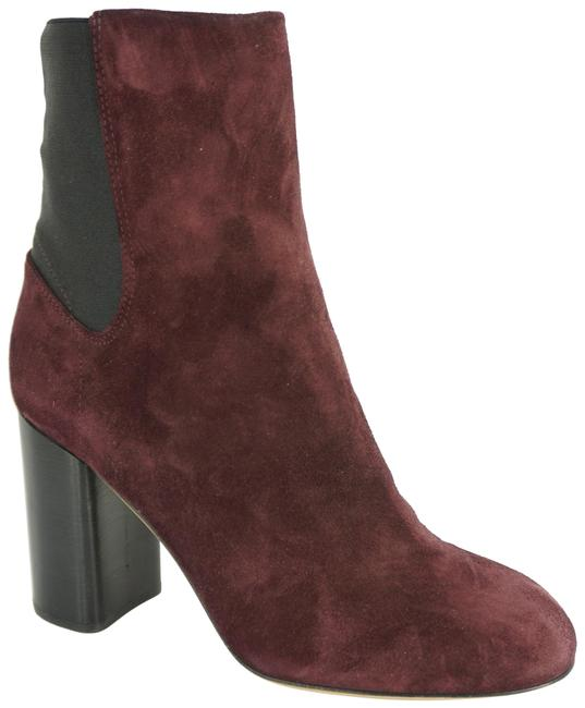 Item - Burgundy Agnes Stretch Back Suede Ankle Boots/Booties Size EU 39 (Approx. US 9) Regular (M, B)
