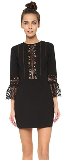 Preload https://img-static.tradesy.com/item/25786899/self-portrait-black-lace-bell-sleeve-mini-short-cocktail-dress-size-8-m-0-1-650-650.jpg