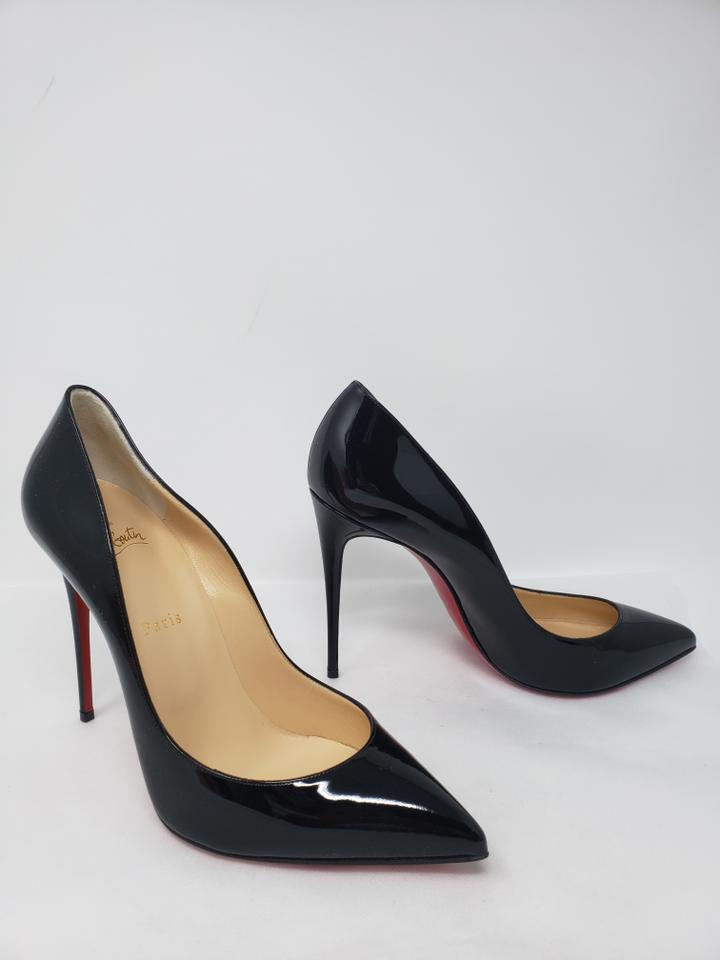 outlet store a02eb 83268 Christian Louboutin Black Patent Leather Pigalle Follies 100 Pumps Size EU  41 (Approx. US 11) Regular (M, B) 15% off retail