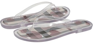 Burberry Flip Flop clear Sandals