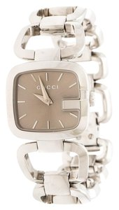 Gucci Gucci Brown Stainless Steel G 125.5 Women's Wristwatch 24 mm