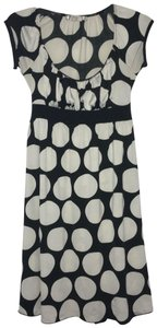La Belle short dress Black w/white polka dots on Tradesy
