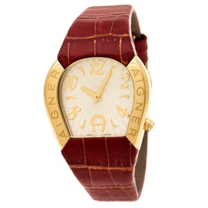 Etienne Aigner Mother of Pearl Gold Plated Steel Cremona A4020 Women'sWristwatch36mm