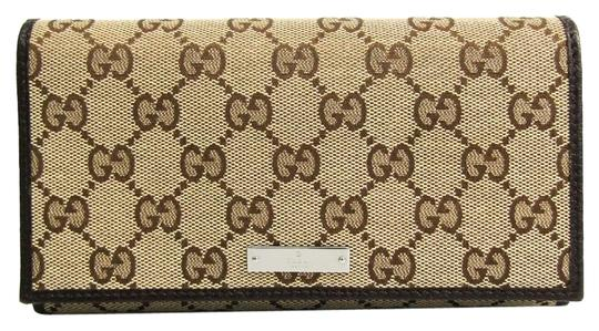 Preload https://img-static.tradesy.com/item/25788557/gucci-beige-brown-long-244946-unisex-gg-canvas-calfskin-bi-fold-wallet-0-1-540-540.jpg