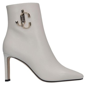 Jimmy Choo Heels Flats Pumps White Boots