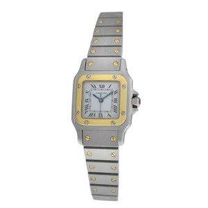 Cartier Ladies Cartier Santos Galbee 18K Yellow Gold Automatic 24MM
