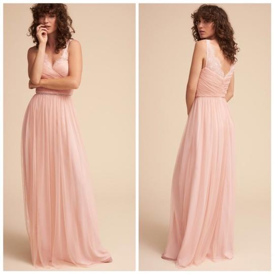 BHLDN Rose Fleur Anthropologie Feminine Bridesmaid/Mob Dress Size 6 (S) Image 2