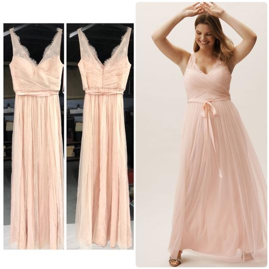 BHLDN Rose Fleur Anthropologie Feminine Bridesmaid/Mob Dress Size 6 (S) Image 3