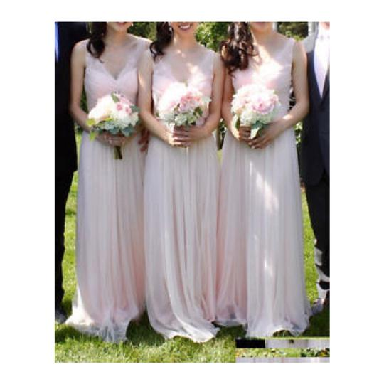 BHLDN Rose Fleur Anthropologie Feminine Bridesmaid/Mob Dress Size 6 (S) Image 4