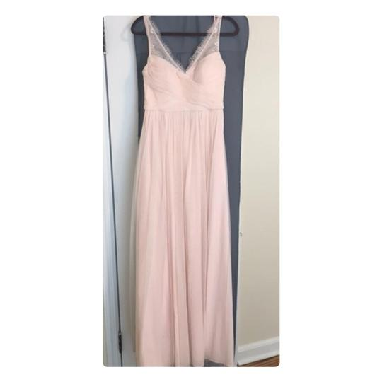 BHLDN Rose Fleur Anthropologie Feminine Bridesmaid/Mob Dress Size 6 (S) Image 5