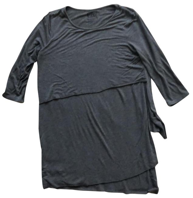 Item - Gray Maternity Luxe Essentials Tunic Size 6 (S)