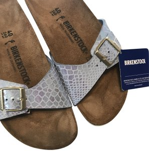 Birkenstock Purplish Blue Mules