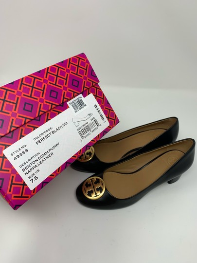 Tory Burch Black Pumps Image 11