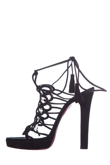 Preload https://img-static.tradesy.com/item/25790666/christian-louboutin-black-suede-cage-sandals-size-eu-38-approx-us-8-regular-m-b-0-0-540-540.jpg