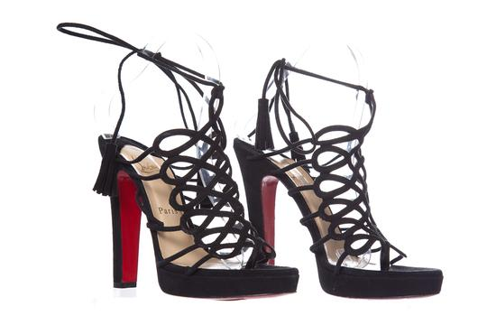 Christian Louboutin Black Sandals Image 2