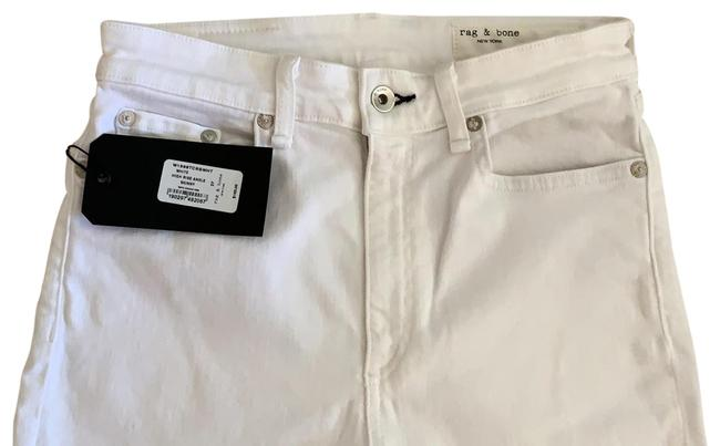 Item - White Nina High Rise Ankle Skinny Jeans Size 4 (S, 27)