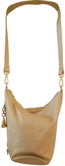Item - Americana By Gold Leather Cross Body Bag