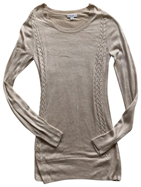 Item - Beige Lightweight Detailed Maternity Top Size 8 (M)
