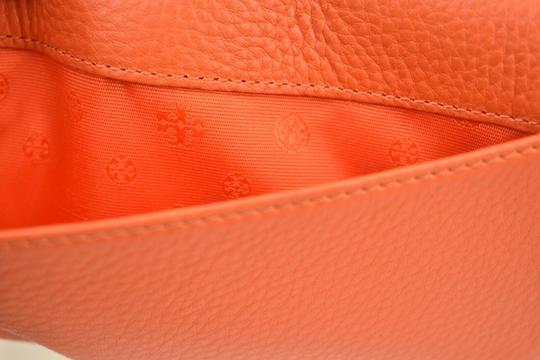 Tory Burch SPICED ORANGE BRITTEN DUO LEATHER ENVELOPE CONTINENTAL WALLET Image 10