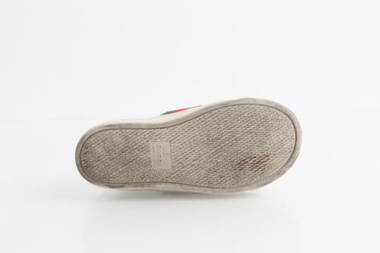 Gucci Multicolor Toddler Slip On Web Sneakers with Croc Trimmings Shoes Image 11