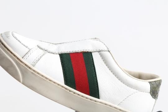 Gucci Multicolor Toddler Slip On Web Sneakers with Croc Trimmings Shoes Image 8