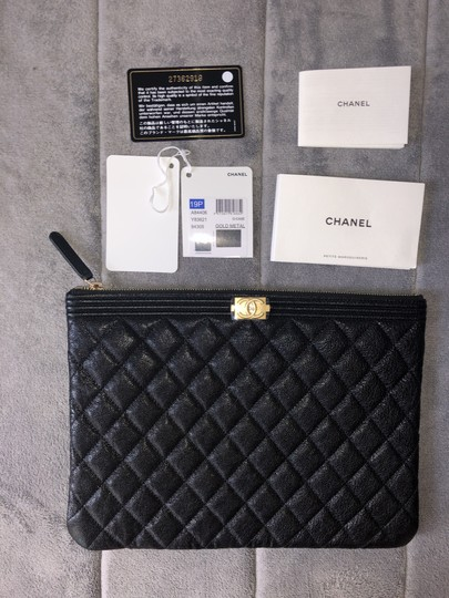 Chanel Black Clutch Image 5