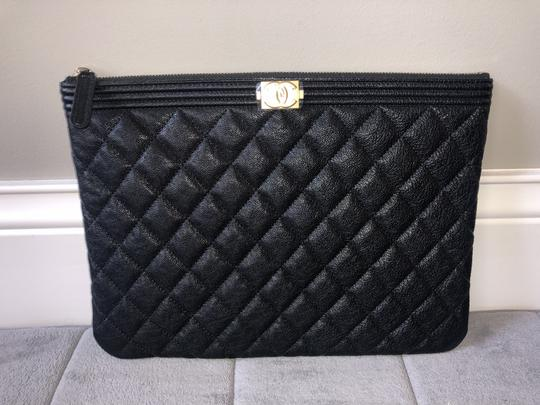 Chanel Black Clutch Image 7