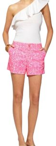 Lilly Pulitzer Dress Shorts Pink/white