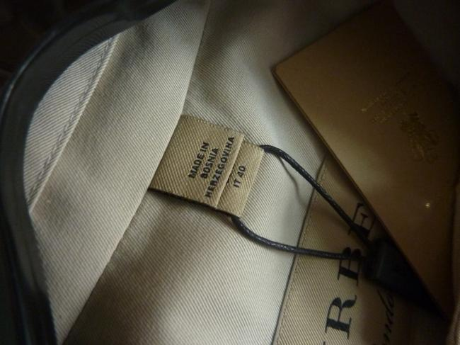 Burberry Logo Fall Trench Coat Image 5