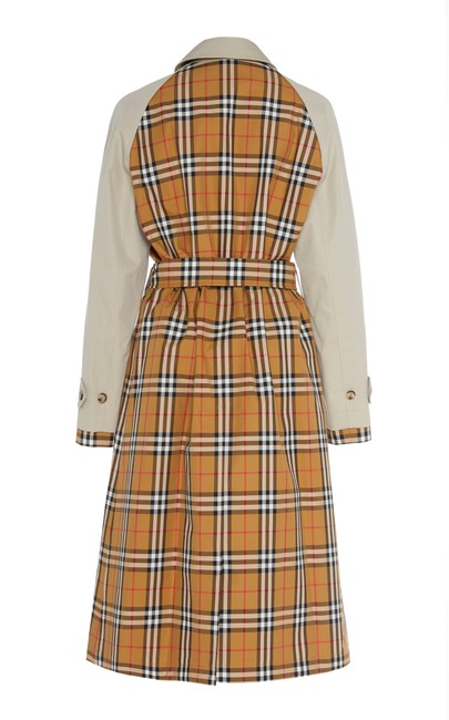 Burberry Logo Fall Trench Coat Image 6