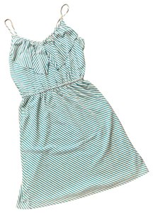 Mossimo Supply Co. short dress blue and white on Tradesy
