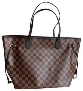 Louis Vuitton Tote in damier ebene red