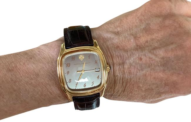 Item - Brown Bronze and 18k Yellow Gold Thoroughbred Watch