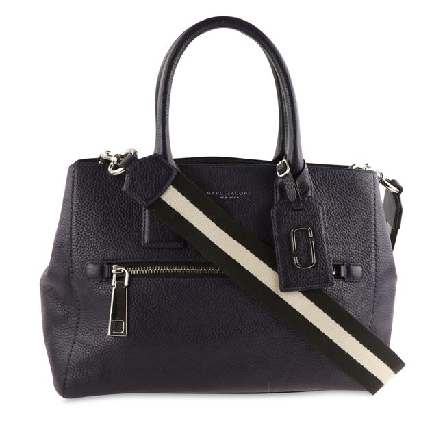 Item - Gotham Purple Leather Tote