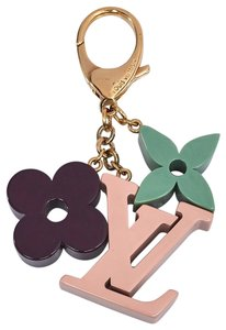 Louis Vuitton Louis Vuitton LV charm rose resin playtime key holder bag charm