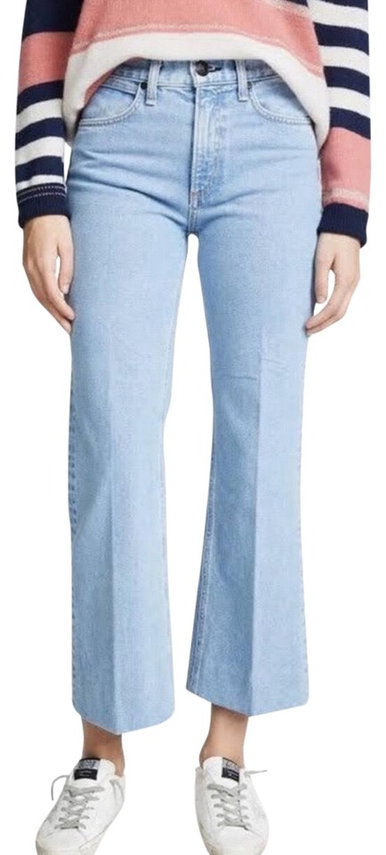 vast selection enjoy lowest price ever popular Rag & Bone Blue Nelly Crop Flare Trouser/Wide Leg Jeans Size 6 (S, 28) 68%  off retail