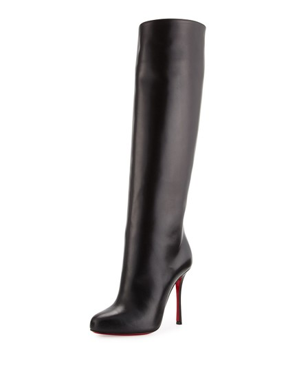 Preload https://img-static.tradesy.com/item/25793297/christian-louboutin-black-leather-vitish-100-knee-high-bootsbooties-size-eu-38-approx-us-8-regular-m-0-1-540-540.jpg