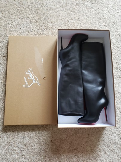 Christian Louboutin Vitish Knee High Botta So Kate Pigalle Black Boots Image 10
