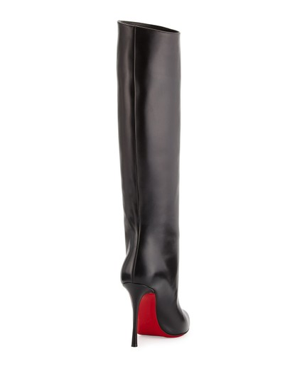 Christian Louboutin Vitish Knee High Botta So Kate Pigalle Black Boots Image 3