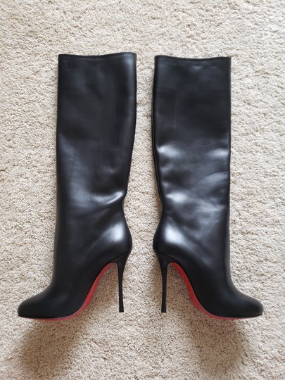 Christian Louboutin Vitish Knee High Botta So Kate Pigalle Black Boots Image 5