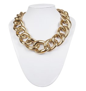Givenchy Givenchy Massive Runway Bold Gold tone Chain Necklace