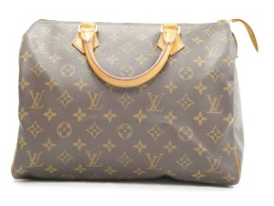 Louis Vuitton Speedy Purse Lv 30 Tote in Brown - item med img