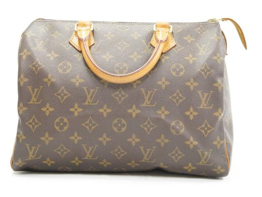 Louis Vuitton Speedy Purse Lv 30 Tote in Brown Image 0