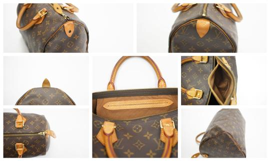 Louis Vuitton Speedy Purse Lv 30 Tote in Brown Image 10