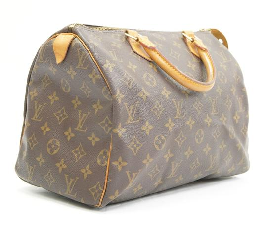 Louis Vuitton Speedy Purse Lv 30 Tote in Brown Image 2