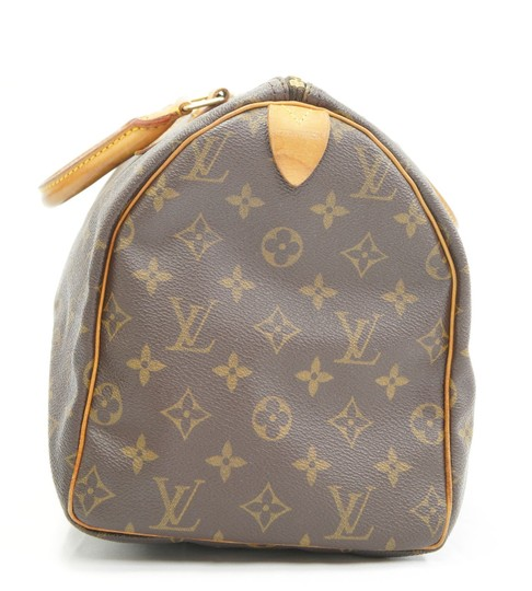 Louis Vuitton Speedy Purse Lv 30 Tote in Brown Image 3