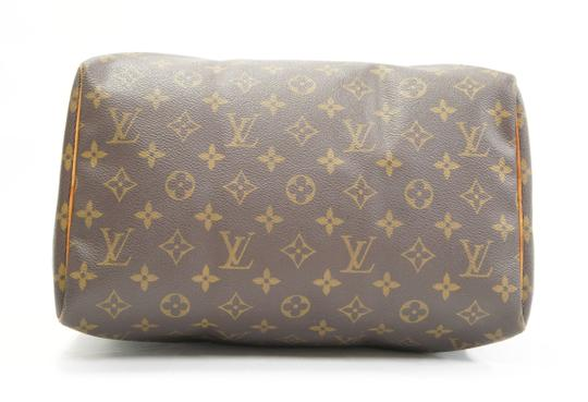 Louis Vuitton Speedy Purse Lv 30 Tote in Brown Image 5