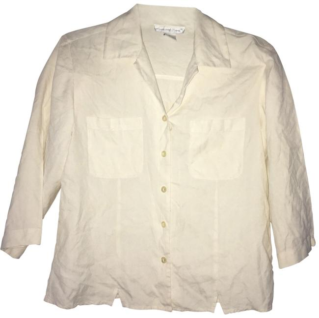 Item - Anna and Frank Silk Shirt Button-down Top Size 6 (S)